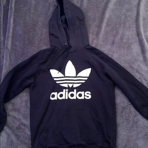 Adidas black sweatshirt